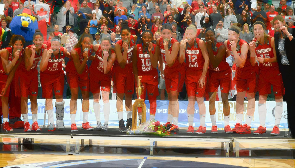 The Canadian Women's Basketball Team is Peaking at the RightTime